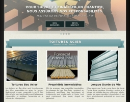 Site Web Responsive Toiture-ile-de-France.com